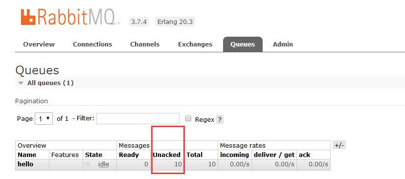 In-depth analysis of the RabbitMQ message response ack mechanism